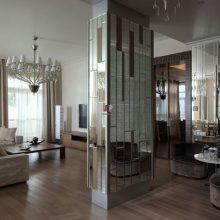 Зеркальная плитка: ее разновидности и особенности